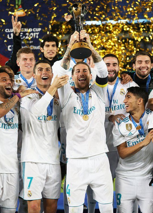 """CHAMPIONS of the WORLD!"" ❤❤ Real Madrid have been crowned world champions after beating Gremio in the final of FIFA Club World Cup 2K17!"