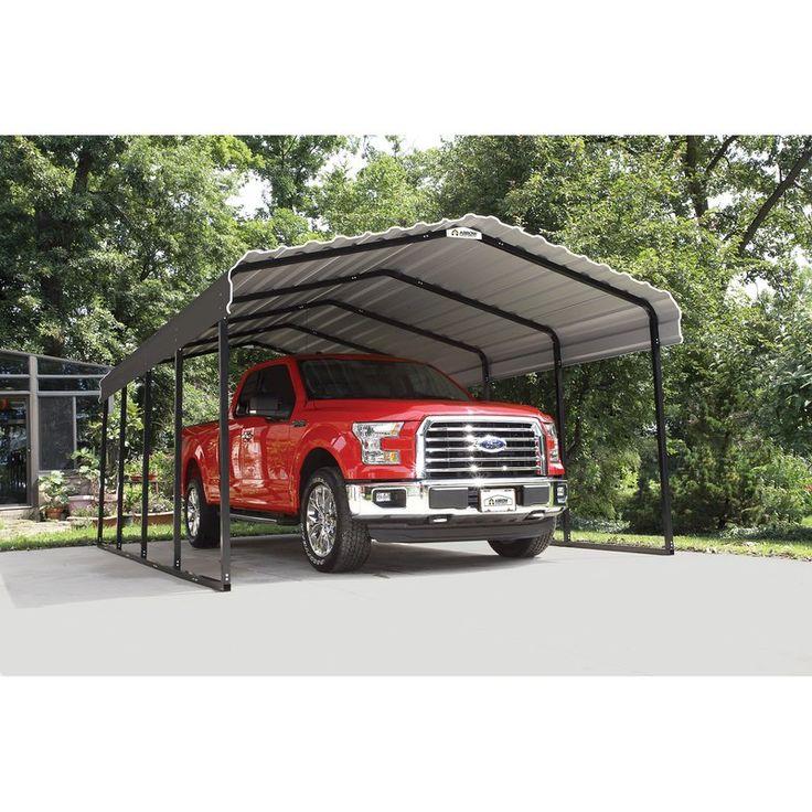 Steel Carport 12 Ft. x 20 Ft. Canopy Steel carports