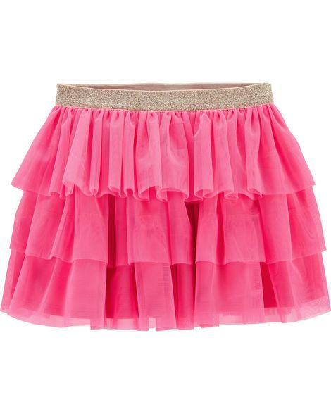2efb96910 Tiered Tulle Skirt from OshKosh B'gosh. Shop clothing & accessories from a trusted  name in kids, toddlers, and baby clothes.
