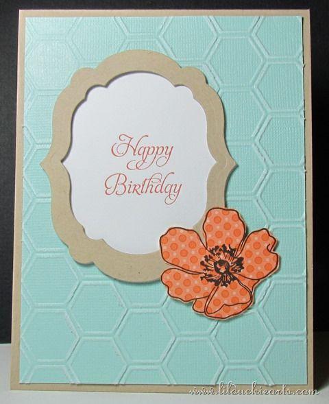 Happy Birthday Frame Card