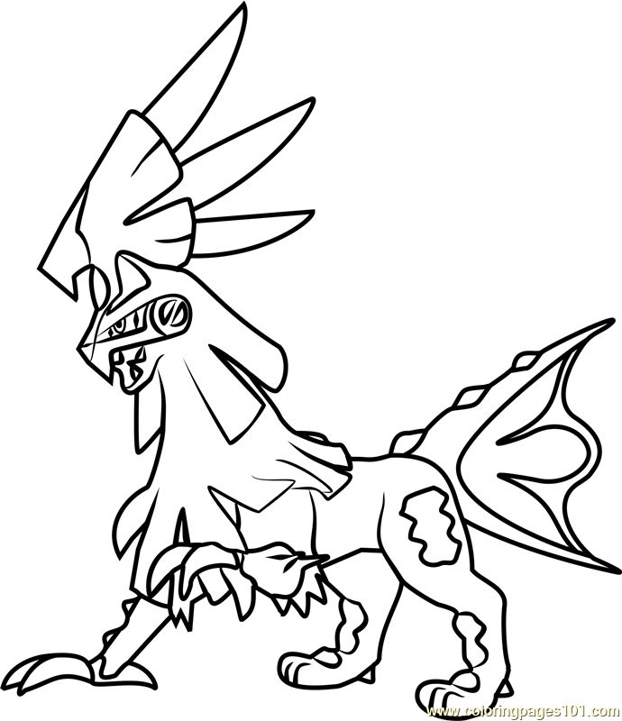 image result for pokemon sun moon coloring pages