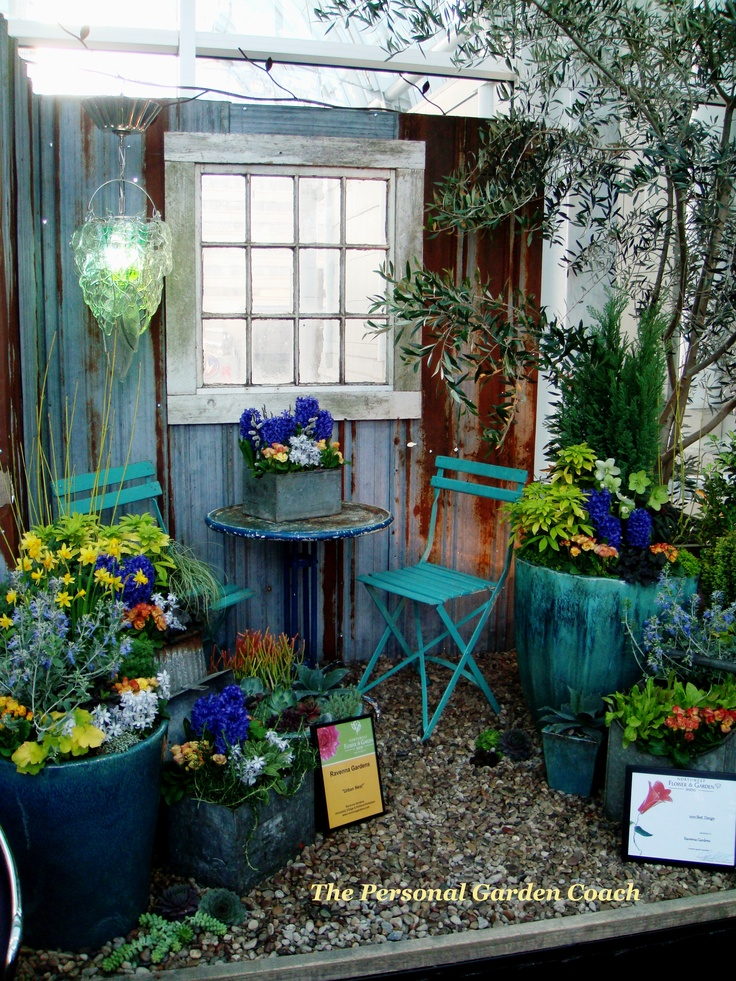 1000 images about garden center displays on pinterest for Display home garden designs