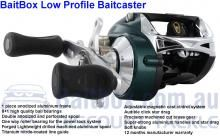 Best value low-profile reel on the market anywhere any place.
