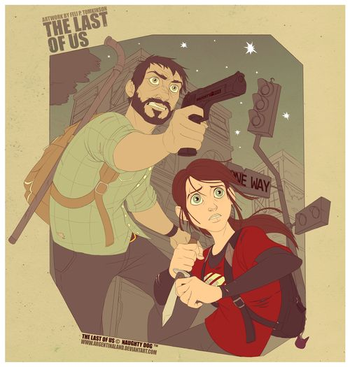 The Last of Us Created byFeli Tomkinson... | GamesNEXT #PS3 #Zombies #Gaming