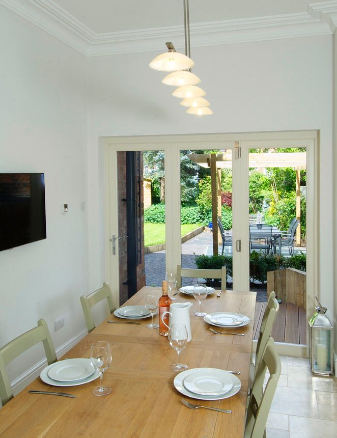 Enjoy the view out to your garden with some Our Bifold doors