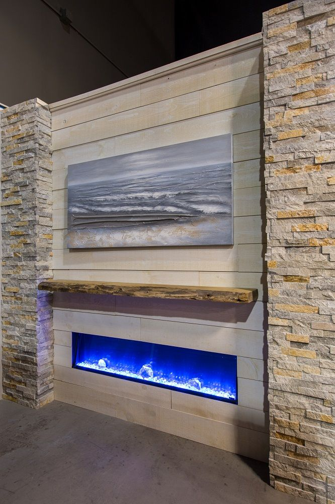 Cottage Casual Amantii Bi 60 Slim Electric Fireplace