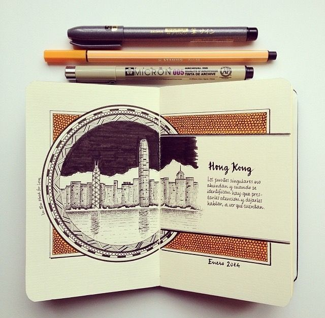 opening page of a travel series