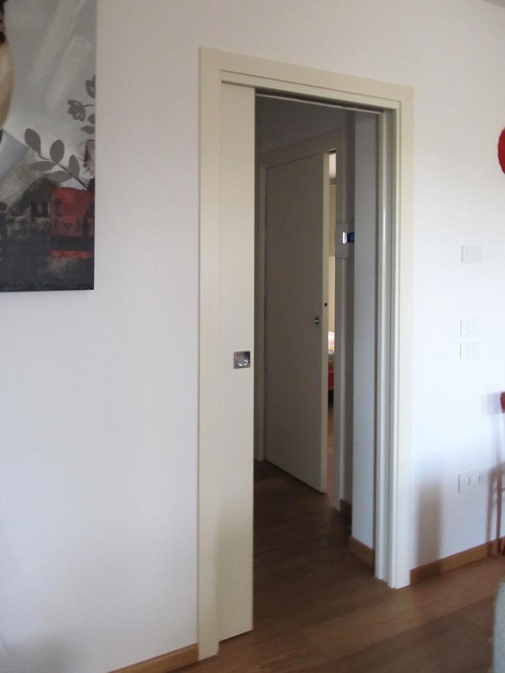 161 best portes eclisse images on pinterest doors - Porte a galandage eclisse ...