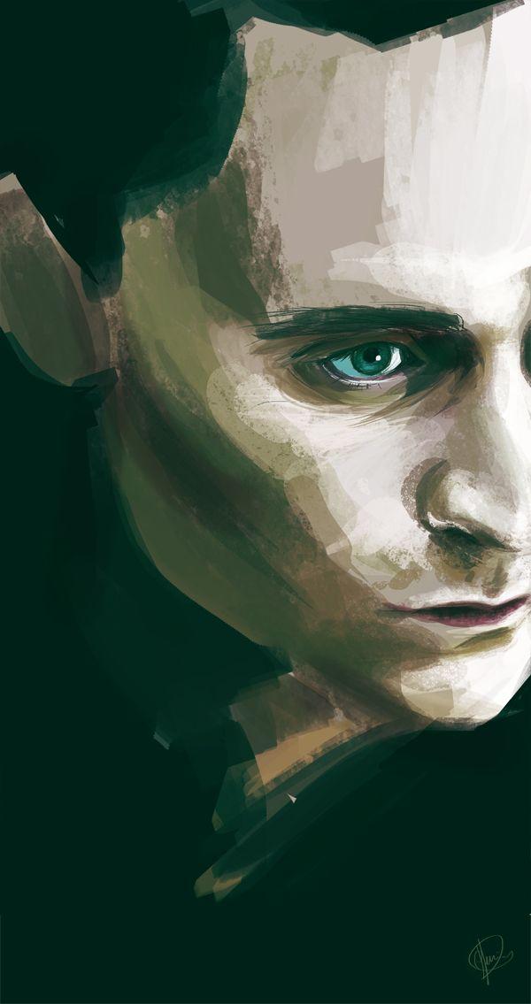 "Tom Hiddleston ""LokI"" Fan art From http://hashtag-genius.tumblr.com/tagged/loki"