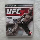 UFC Undisputed 3 PS3 Playstation FIGHT MARTIAL ARTS MMA