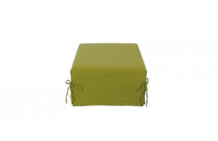 Pouf Lit Convertible Design Modulo - Vert