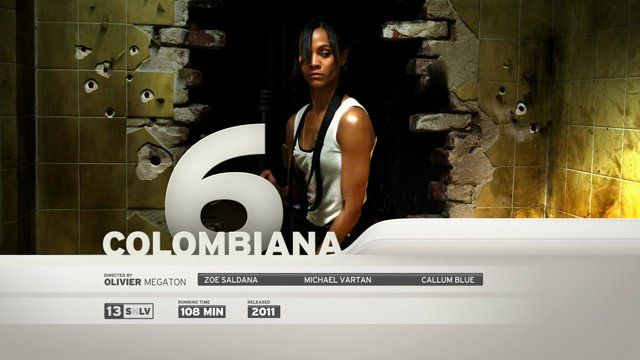 "30"" Screening board for the movie Colombiana"