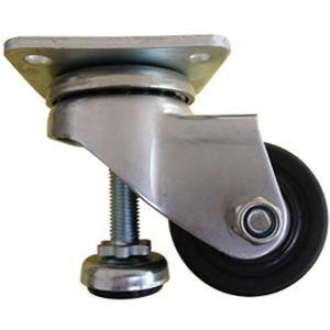 """Descripción:  Nombre: nivelación ajustables ruedas  Material: PA6  Tamaño de la rueda: 2 """"x 38mm; 3"""" x 46mm  Capacidad de carga: 300 kg, 500 kg www.casterwheelsco.com ; sales@casterwheelsco.com"""
