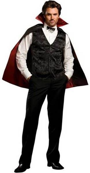 Показать на фото костюм вампира