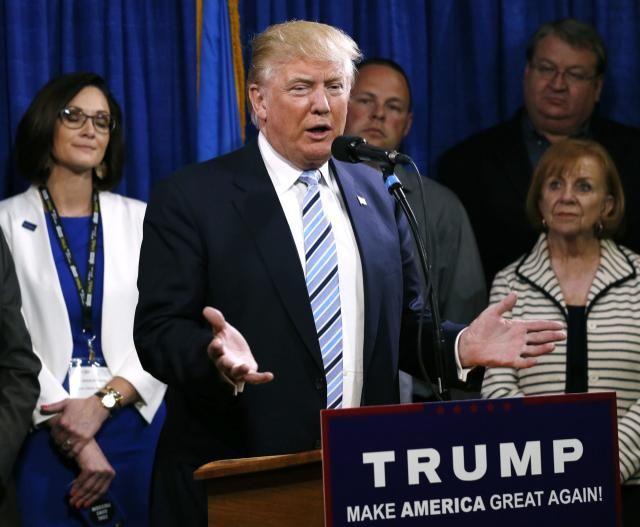 Donald Trump roasts rivals in rambling, 40-minute press conference