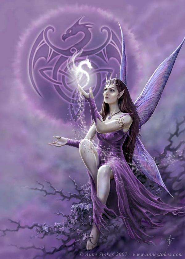Reine fée des dragons