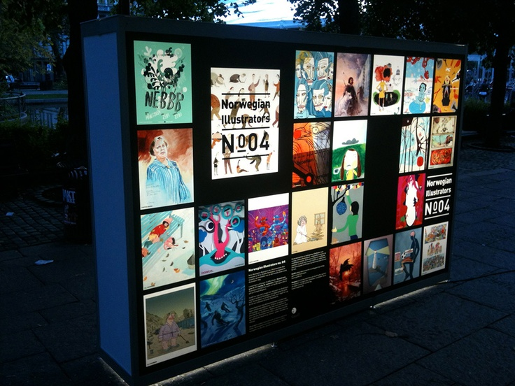Grafill Lightbox Displays ‹ Eivind Vetlesen : Graphic Design & Illustration