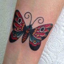 tatouage tattoo papillon  (40)