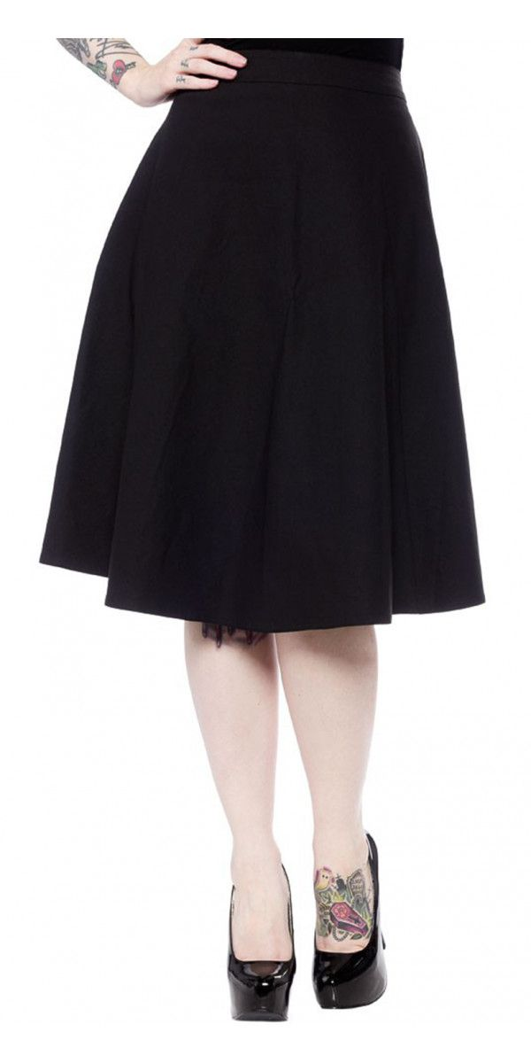 Donna Skirt in Black
