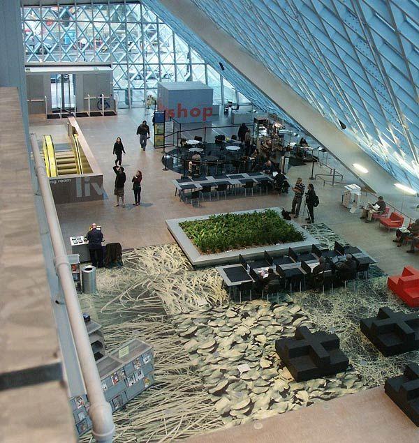 Рем Колхас (Rem Koolhaas)/ OMA: Seattle Public Library, Seattle, Washington, USA (Центральная библиотека, Сиэтл, США), 2004