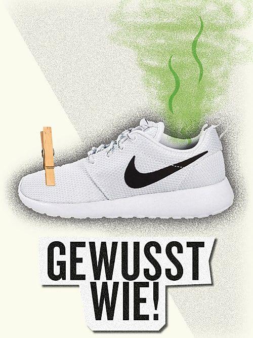 Schuhe Geruch Entfernen