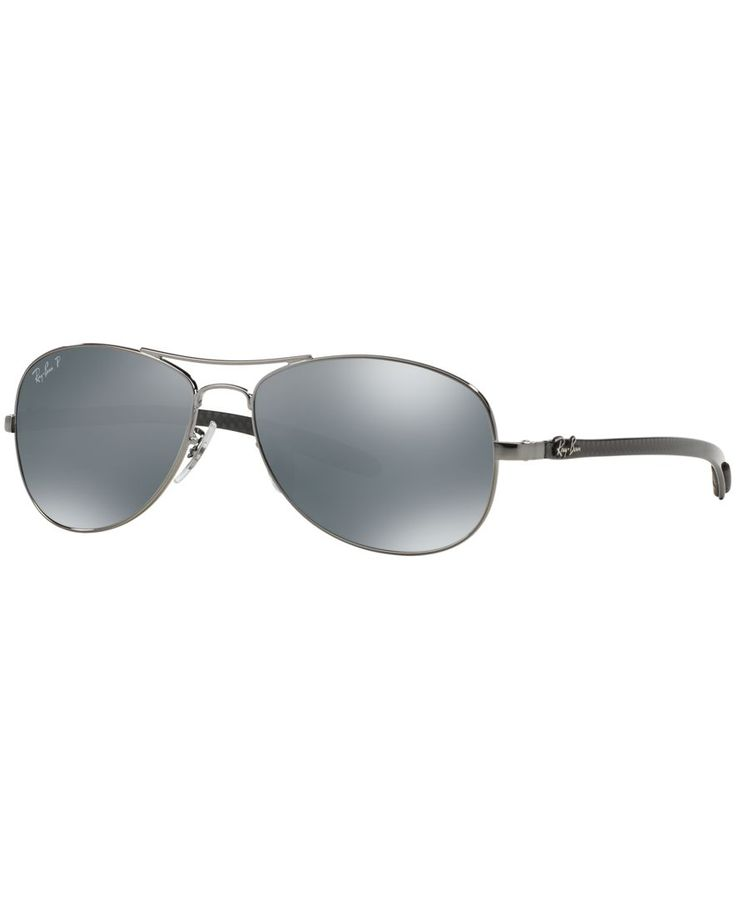 Ray-Ban Sunglasses, RB8301 59 Carbon Fibre
