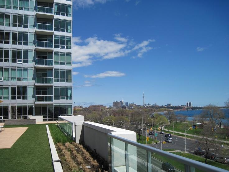 Terrace View facing Downtown Toronto