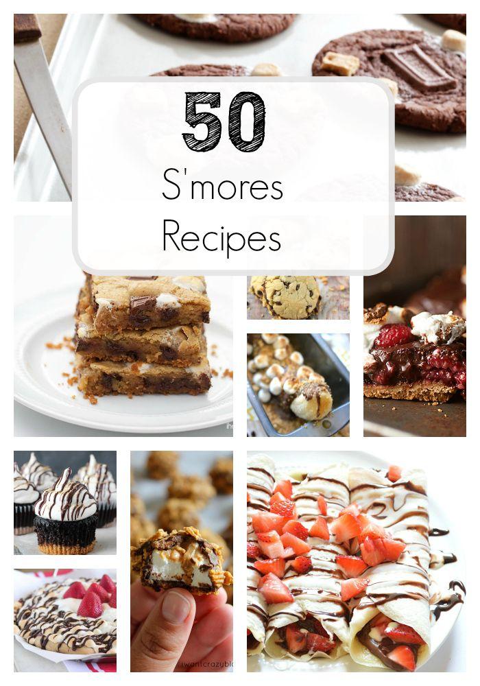 Top 50 Smores recipes on iheartnaptime.com