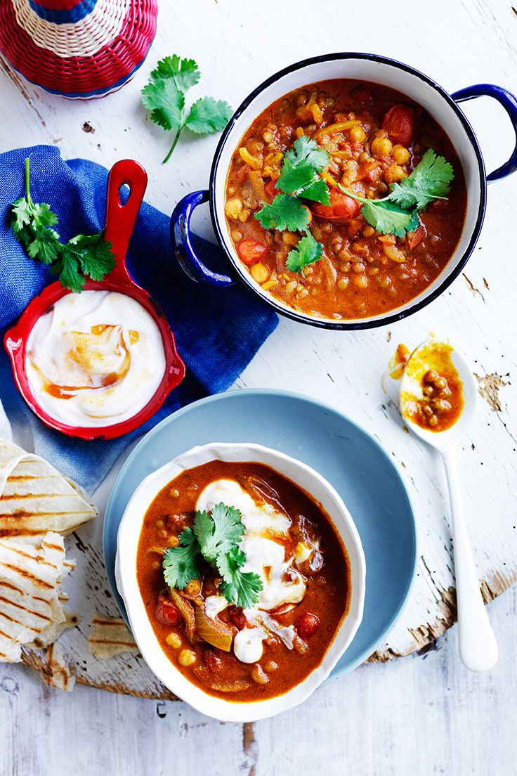 This flavoursome lentil and chickpea curry from The Australian Women's Weekly's 'Fast Favourite Dinners' cookbook will take you from dinner through to lunch the next day - too easy!