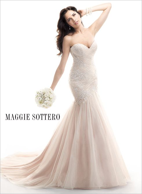Available at Enchantment Bridal and Formal Gowns, 10 King Street West, Chatham Ontario Haven - by Maggie Sottero