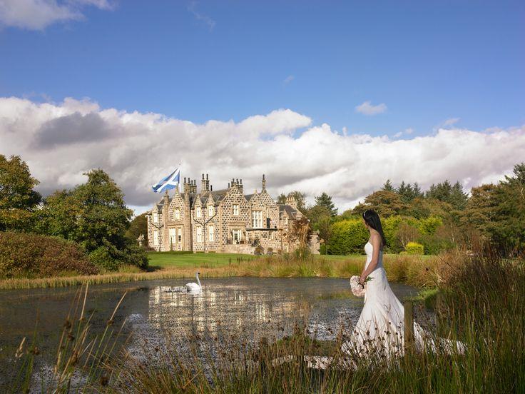 MacLeod House Lodge Luxury Exclusive Use Wedding Venue Aberdeen Scotland
