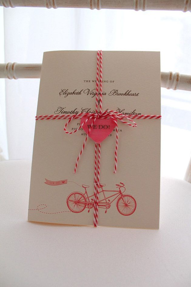 DIY Wedding Reception Stationery