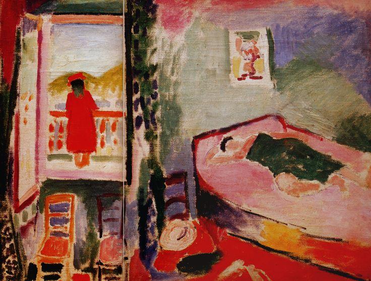 1905 henri matisse int rieur collioure la sieste for Matisse fenetre ouverte collioure