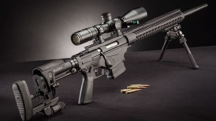 Ruger Precision Rifle (new long-range rifle - beautiful and inexpensive)
