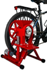bike-powered grain mill