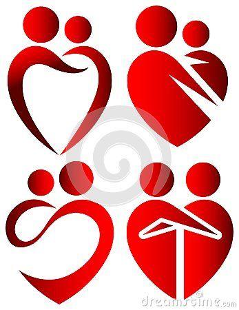 Love symbols by Selvam Raghupathy, via Dreamstime