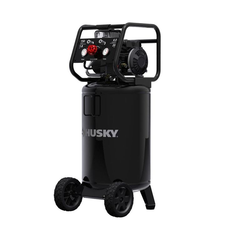 Husky 20 Gal. Vertical Oil Free Electric Air Compressor-0332013 - The Home Depot