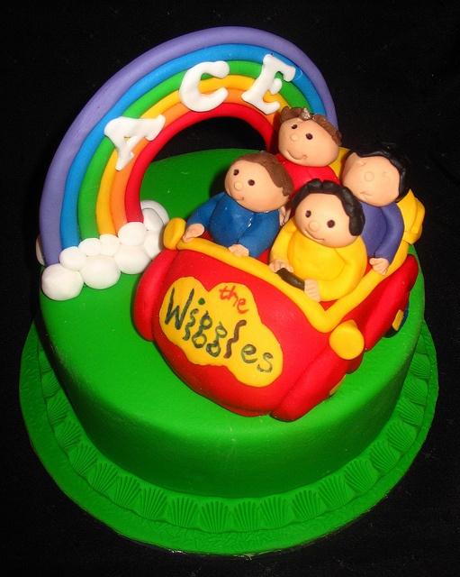 Wiggles cake by kelzkitchen,