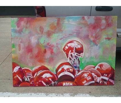 Hog helmet painting