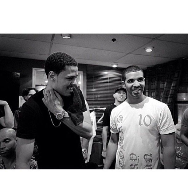 J Cole and Drake