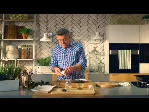 Λαζάρου   Τσιπούρες στο γκριλ με λαχανικά - YouTube