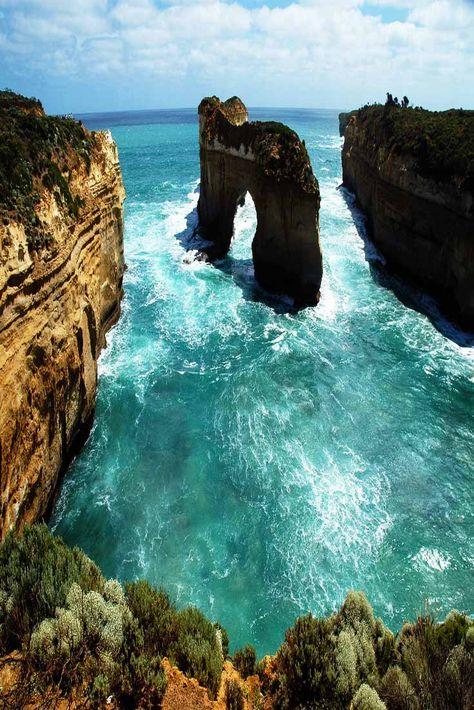 Great Ocean Road in Victoria, Australia.