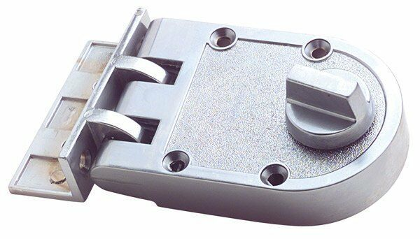 Single Cylinder Anti Jemmy Front Door Deadlock-Chrome Plate-S203SC-FREE POST