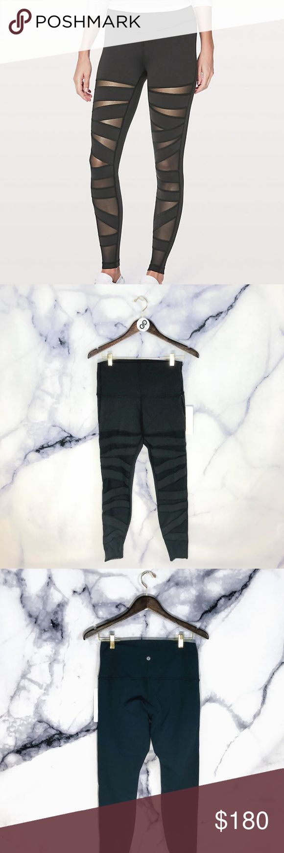 """Wunder Under Pant (Hi-Rise) Tech Mesh 31"""" BLACK Wunder Under Pant HRSE MESH Special Edition 31""""  Hard to find these babies in stock in THIS color and THIS size for long!   Measures 28"""" waist unstretched, 12"""" rise, 31"""" Inseam  If you like it, send me an offer! Too shy to offer? Add it to bundle and I'll send you my best price! Want to buy it full price? Comment """"SOLD"""" and add to bundle to receive free or discounted shipping.   Thanks for stopping! Come back soon as I add new items regularly…"""