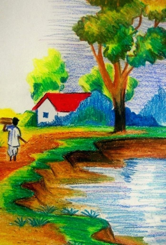 Scenery Images For Drawing At Getdrawings Com Free For Personal