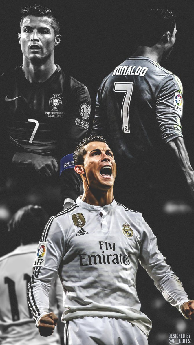 Cristiano Ronaldo Wallpaper 2015 by F-EDITS
