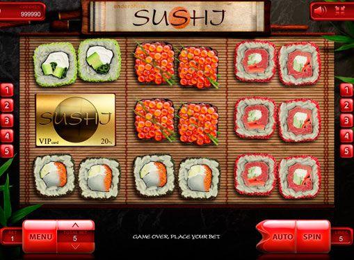 Слот автомат Sushi — играете за реални пари. Суши набира все повече и повече популярност с всеки изминал ден, не е изненадващо, че компанията е решила да посвети Endorphina ги новия си игри слот машина. Резултатът е една завладяваща три барабана слот, който е много изгод�