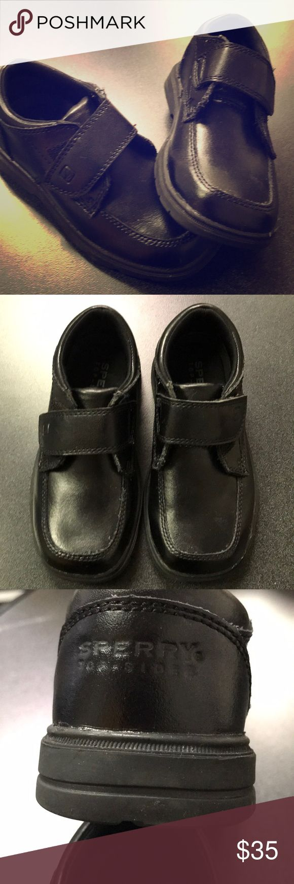 Sperry Miles boys dress shoes Excellent condition!  Worn only once.  Boys Sperry Miles loafers Sperry Top-Sider Shoes Dress Shoes