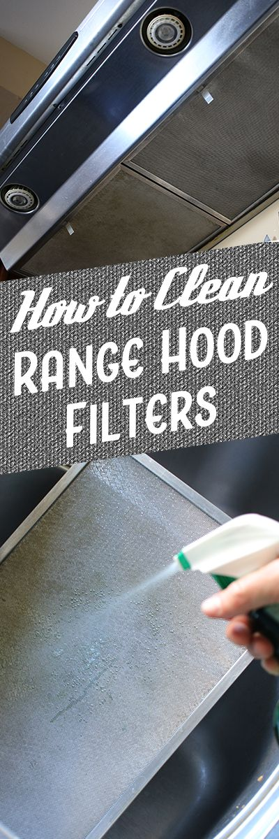 Have you ever cleaned your range hood filter? It's a commonly overlooked cleaning job, but a consistent schedule  helps maintainbetter air quality in your home. Metallic grease filters are usually made from aluminum or stainless steel, and should be cleaned regularly. Top manufacturers recommend that you clean metallic filters at least once a month, to clear out all the greasy, oily smoke and grime your stove produces.