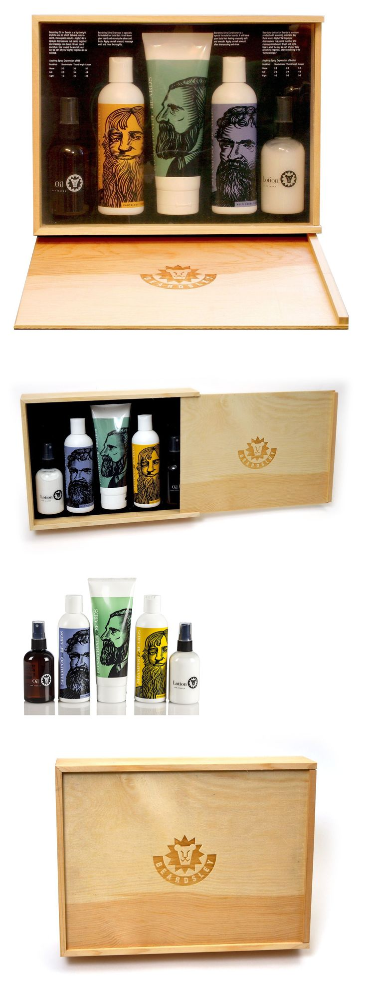 Shaving and Grooming Kits and Sets: Beardsley In The Box Beard Care Set - Beard Shampoo Conditioner Lotion Oil -> BUY IT NOW ONLY: $59.95 on eBay!